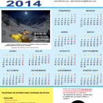 YA ESTÁ DISPONIBLE EL CALENDARIO-ALTODO 2014