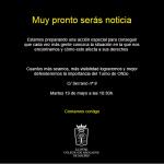 MARTES A LAS 10.30 H NUEVA ACCIÓN DE PROTESTA